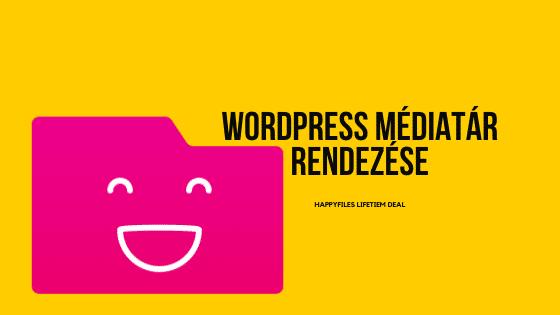 WordPress médiatár rendezése – HappyFiles