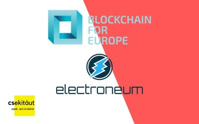 A Blockchain For Europe 10. tagja az Electroneum